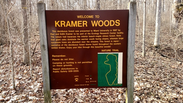Kramer Woods Trail
